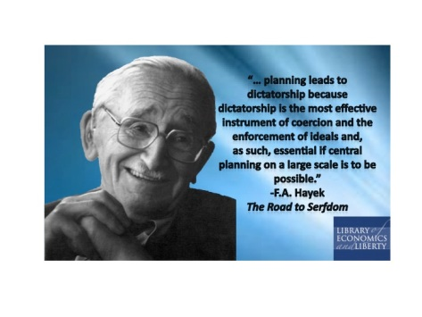 Hayek on Planning